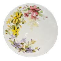 Керамический салатник с рисунком в весенней тематике «Цветочное настроение»