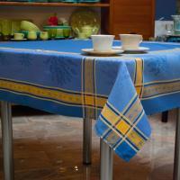 Скатерть Лаванда с тефлоновым покрытием