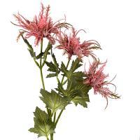 Искусственное растение Эрингиум розового цвета