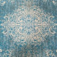 Коврик Centrotex Tiffany Colori Disponibili 60×110 см голубой