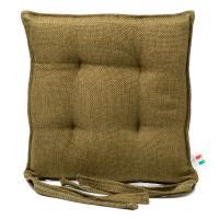 Подушка для стула зеленая