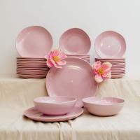 Сервиз розовый на 12 персон Comtesse