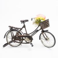 """Статуэтка """"Велосипед с корзиной"""""""