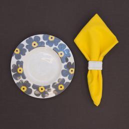 Салфетка столовая желтая