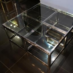 Стол декоративный HazenKamp 120×120×45 см