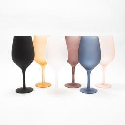 Набор матовых бокалов для вина Villa d'Este 6 шт.