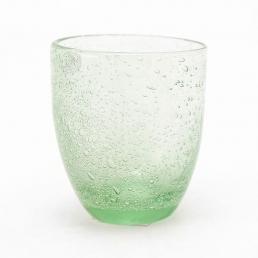Набор стаканов для воды Bastide салатового цвета, 6 шт