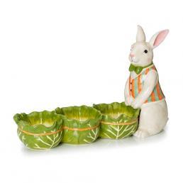 """Менажница """"Кролик с капустой"""""""
