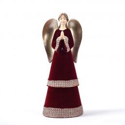 "Статуэтка красно-бежевого цвета ""Ангел"" Maison"
