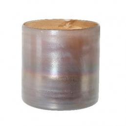 Ваза коричневого цвета с эффектом металлик Wellington