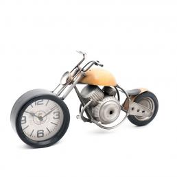 Часы в виде мотоцикла Orange Chopper Loft Clocks & Co