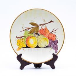 Тарелка настенная круглая Frutta di Campo