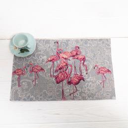 "Гобеленовая салфетка ""Фламинго"""