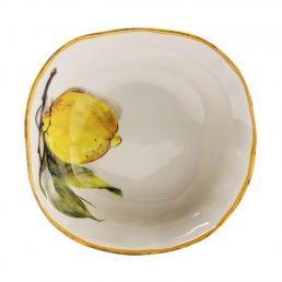 Тарелка для супа Bizzirri Лимоны 20 см