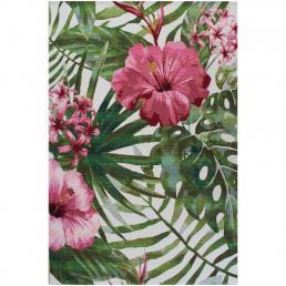 Ковер для террасы зелено-розовый Jungle SL Carpet