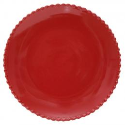 Тарелка красная Pearl