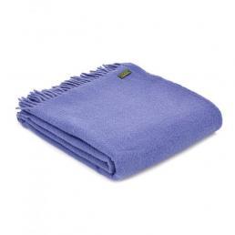 Плед Tweedmill  Plain Weave Parma Violet  150×183 см фиолетовый