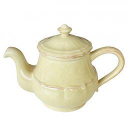 Заварник для чая керамический желтого цвета Impressions