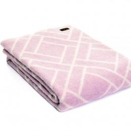 Плед Tweedmill Brick 130×180 см розовый