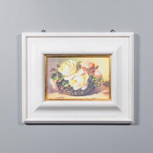 Репродукция картины Decor Toscana Розовые розы  53×43 см