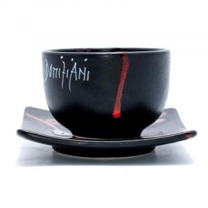 Чашка чайная с квадратной тарелкой