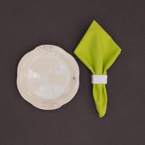Салфетка столовая тканевая салатовая