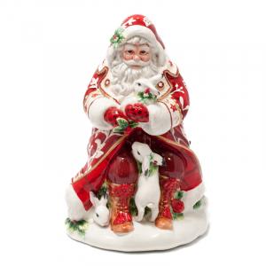 Большой бисквитник Дед Мороз