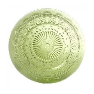 Тарелка подставная зеленая