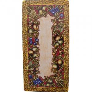 Столешница для террасы Caravaggio fascia rossa