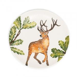 """Блюдо круглое """"Лесной олень"""""""