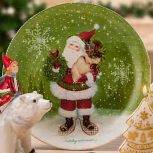 """Новогоднее блюдо """"Заколдованный лес"""""""