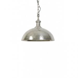 Подвесной светильник серебряно-серый
