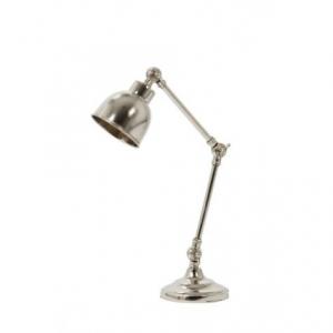 Лампа настольная серебрянная