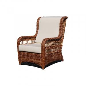 Плетеное кресло для отдыха в саду и на террасе Ebony