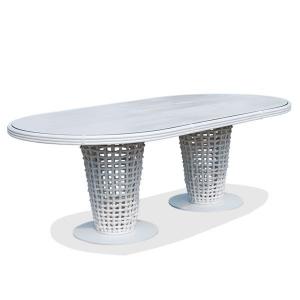 Стол обеденный овальный Dynasty Dining Set Skyline Design