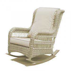 Кресло-качалка белого цвета Arena Skyline Design