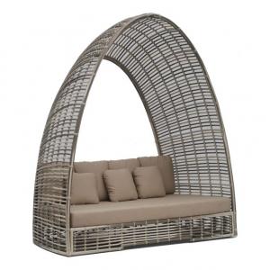 Уличный диван с мягкими подушками Surabaya Daybed Off White