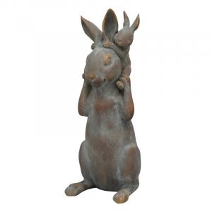 """Статуэтка """"Крольчиха и кролик"""" TroupeR"""
