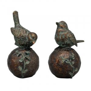 "Набор статуэток ""Птички на шарах"" TroupeR, 2 шт"
