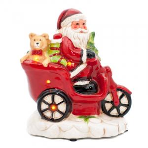 Статуэтка Дед Мороз на скутере