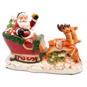 Статуэтка Дед Мороз на оленях