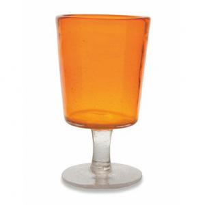 Бокал для вина Villa d'Este Malibu оранжевый