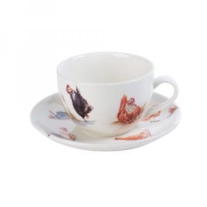 Набор из 6-ти чашек с блюдцами для чая Campagne