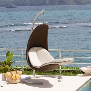 Кресло подвесное на стойке Christine Mocca Skyline Design