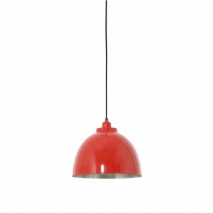 Подвесной светильник красный