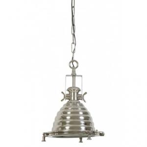 Подвесной светильник глянцево-серый