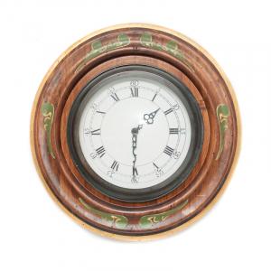 Часы антикварные с росписью