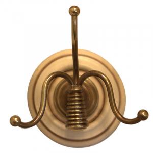 Вешалка для верхней одежды на два крючка Capanni