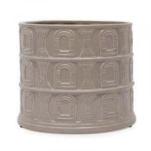 """Керамическое кашпо в форме амфитеатра """"Колизей"""""""