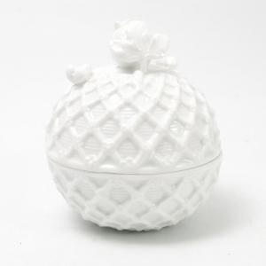 Шкатулка белая Trame in bianco